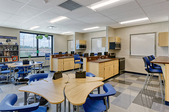 educational lab area