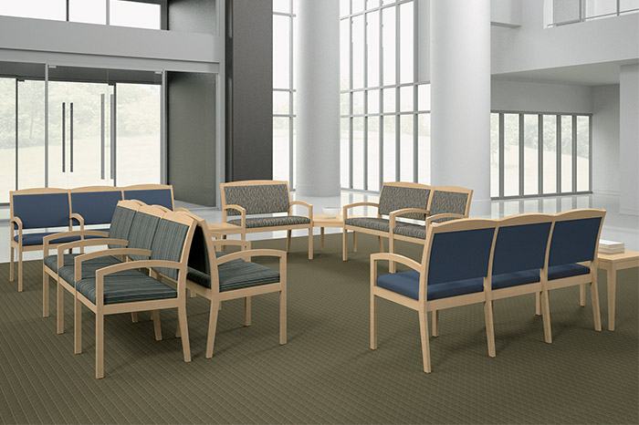 non-profit lobby seating