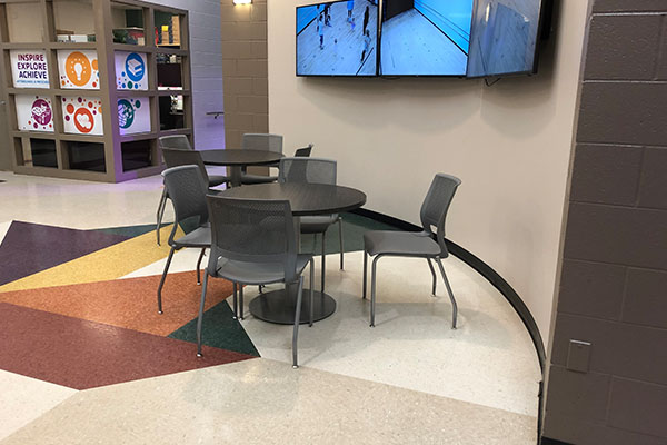 Table and Chairs for Breakroom Area