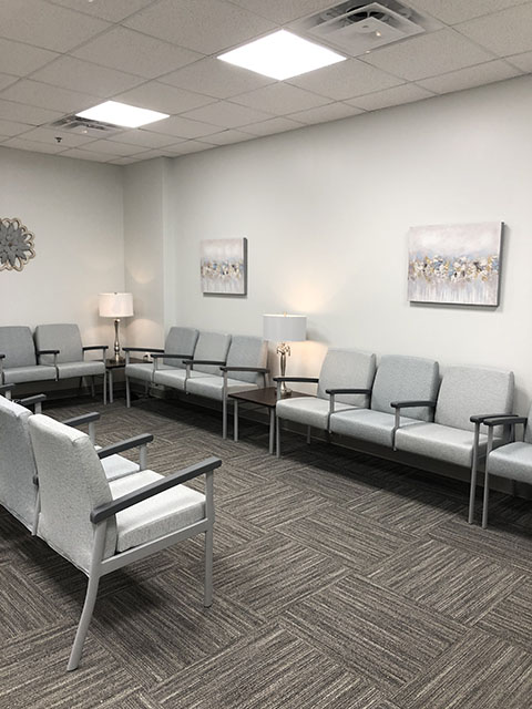 Medical Clinic Lobby Area