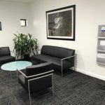 Corporate Lobby Leather Grouping