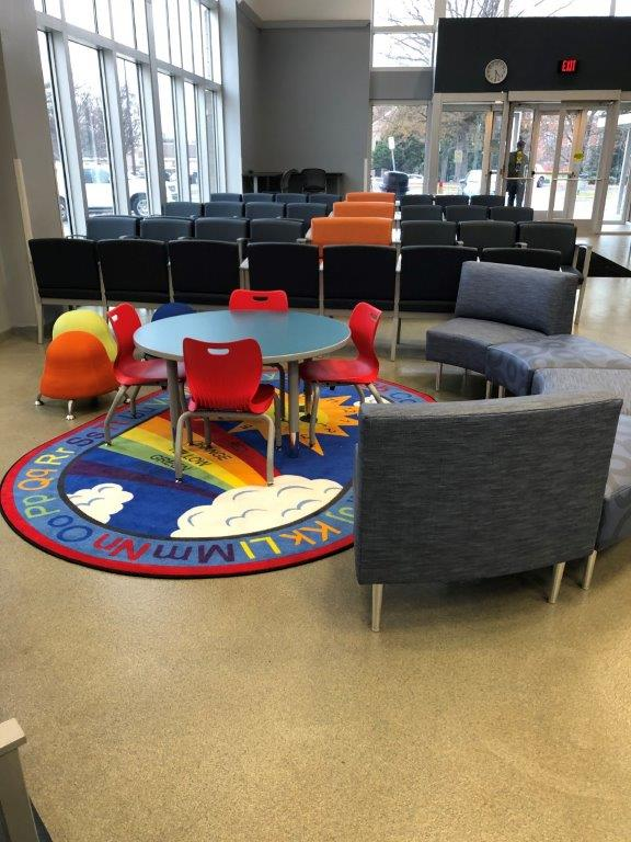 Lobby Child Craft Area