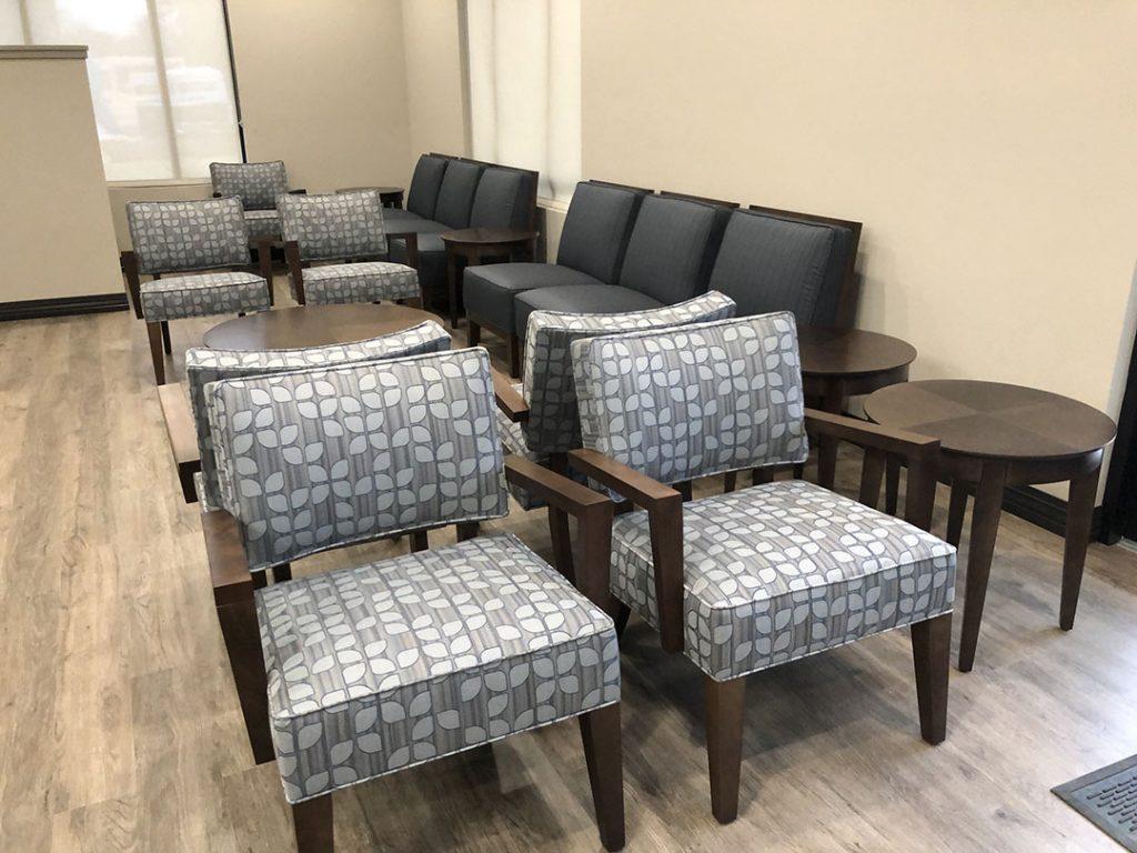 Dental Office Waiting Area