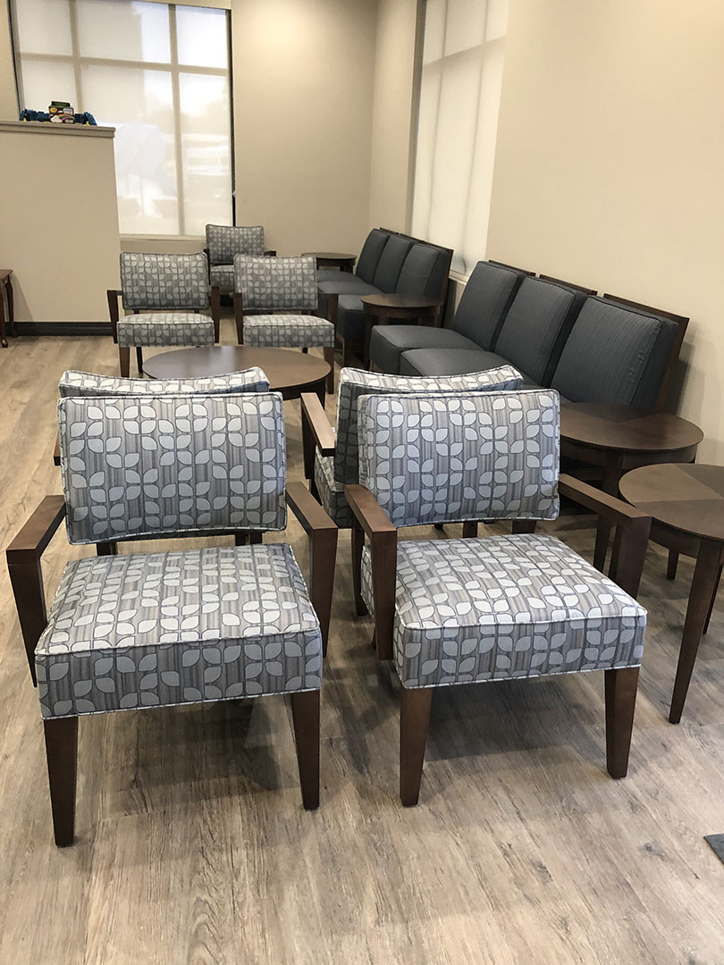 Healthcare Seating Area