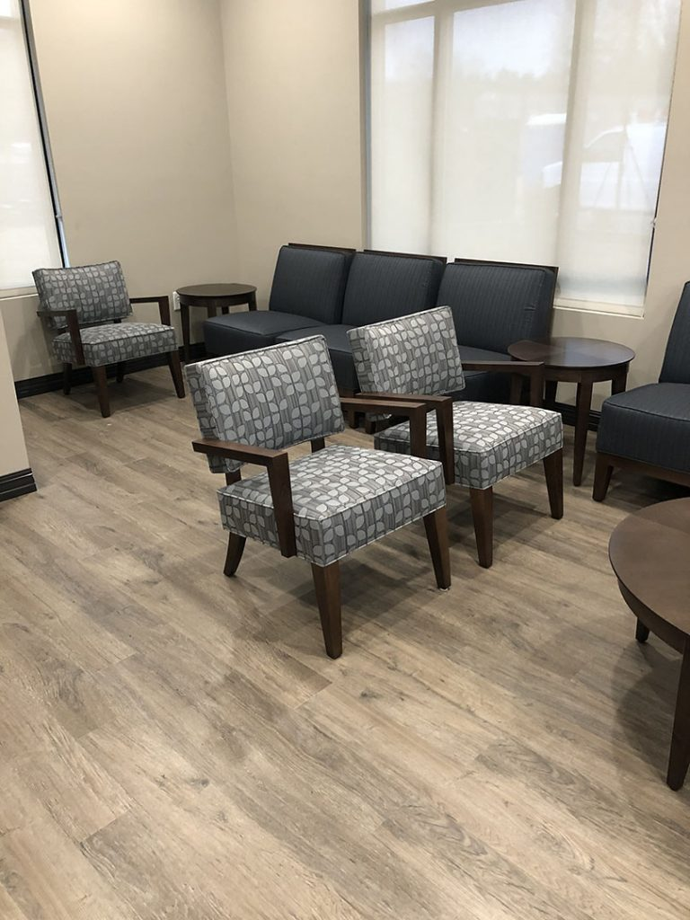 Medical Office Patient Seating Area